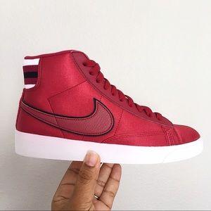 Women's Nike Blazer Mid Premium Red Crush Size 6.5